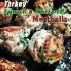 Thumbnail image for Turkey, Spinach & Mozzarella Meatballs