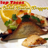 Thumbnail image for Scallop Tacos in Baked Wonton Wrappers {and a Margarita}