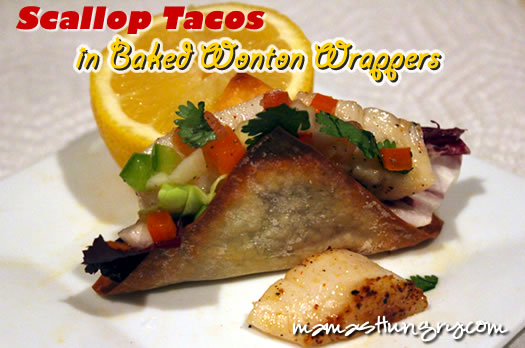 Scallop Tacos with Pico de Gallo